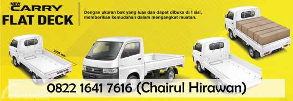 Banner kredit suzuki new carry pick up bandung